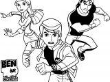 Benten Gwen Kevin Adventure Time Coloring Page