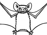 Boy Bat Coloring Page