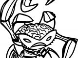 Brain Creature Benten Coloring Page