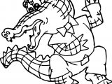 But Crocodile Alligator Coloring Page
