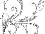 Butterfly Shape Ornament Coloring Page