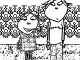 Charlie And Lola Teeth Coloring Page