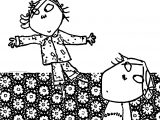 Charlie And Lola Touch Coloring Page
