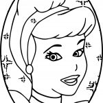 Cinderella Circle Coloring Pages