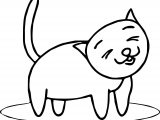 City Cat Coloring Page