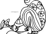 Clown Riding Bike Coloring Page