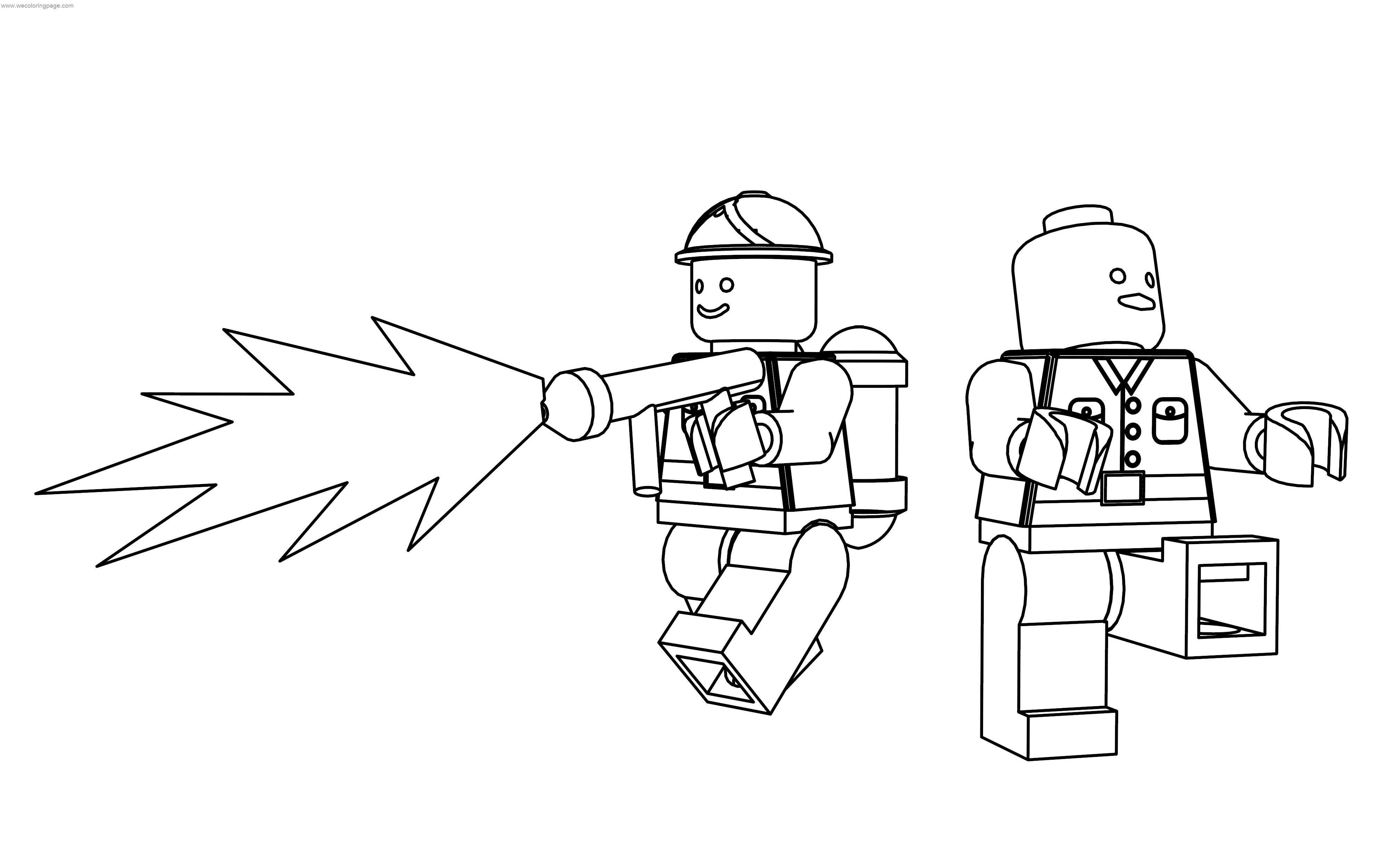 Cod Waw Lego Coloring Page