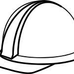 Computer Engineer Helmet Coloring Page