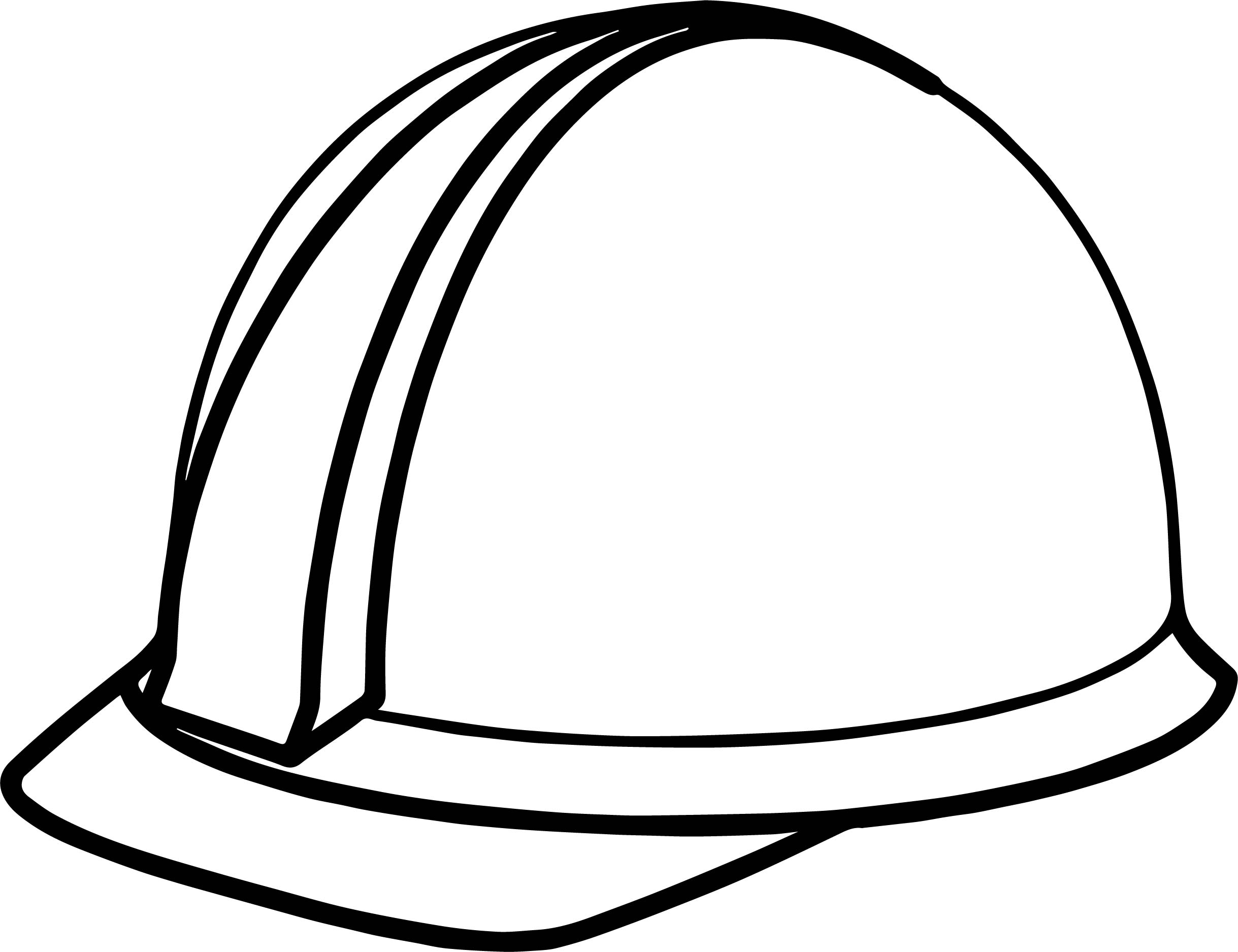 Computer Engineer Helmet Coloring Page Wecoloringpage