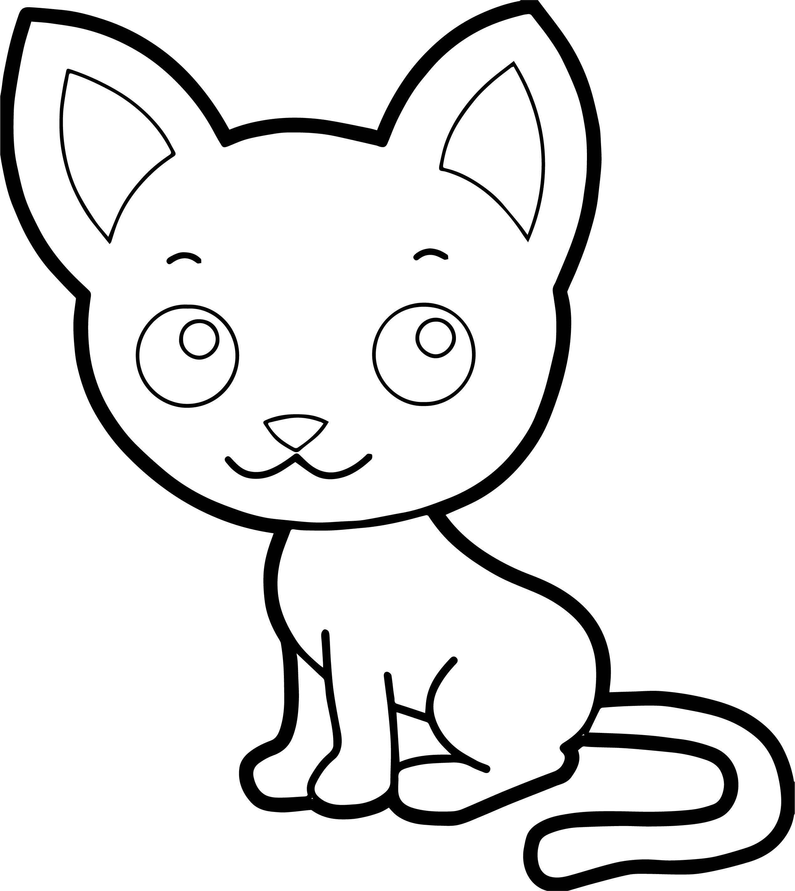 Could Cat Coloring Page