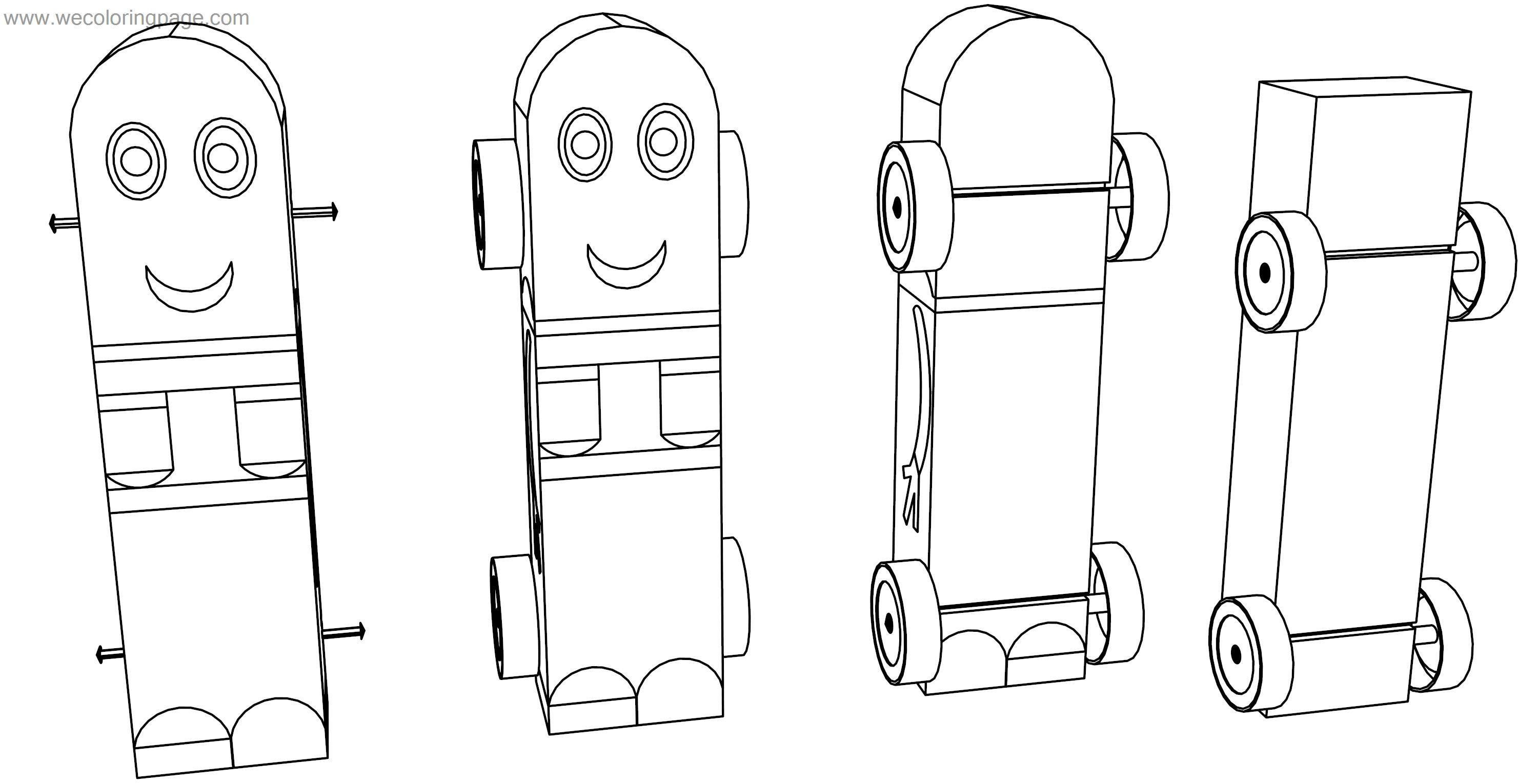 Despicable Me Minion Pinewood Derby Car Coloring Page