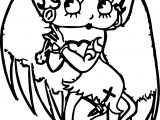Devil Betty Boop Coloring Page