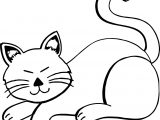 Did Cat Coloring Page