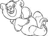 Disney Brother Bear Back Coloring Pages