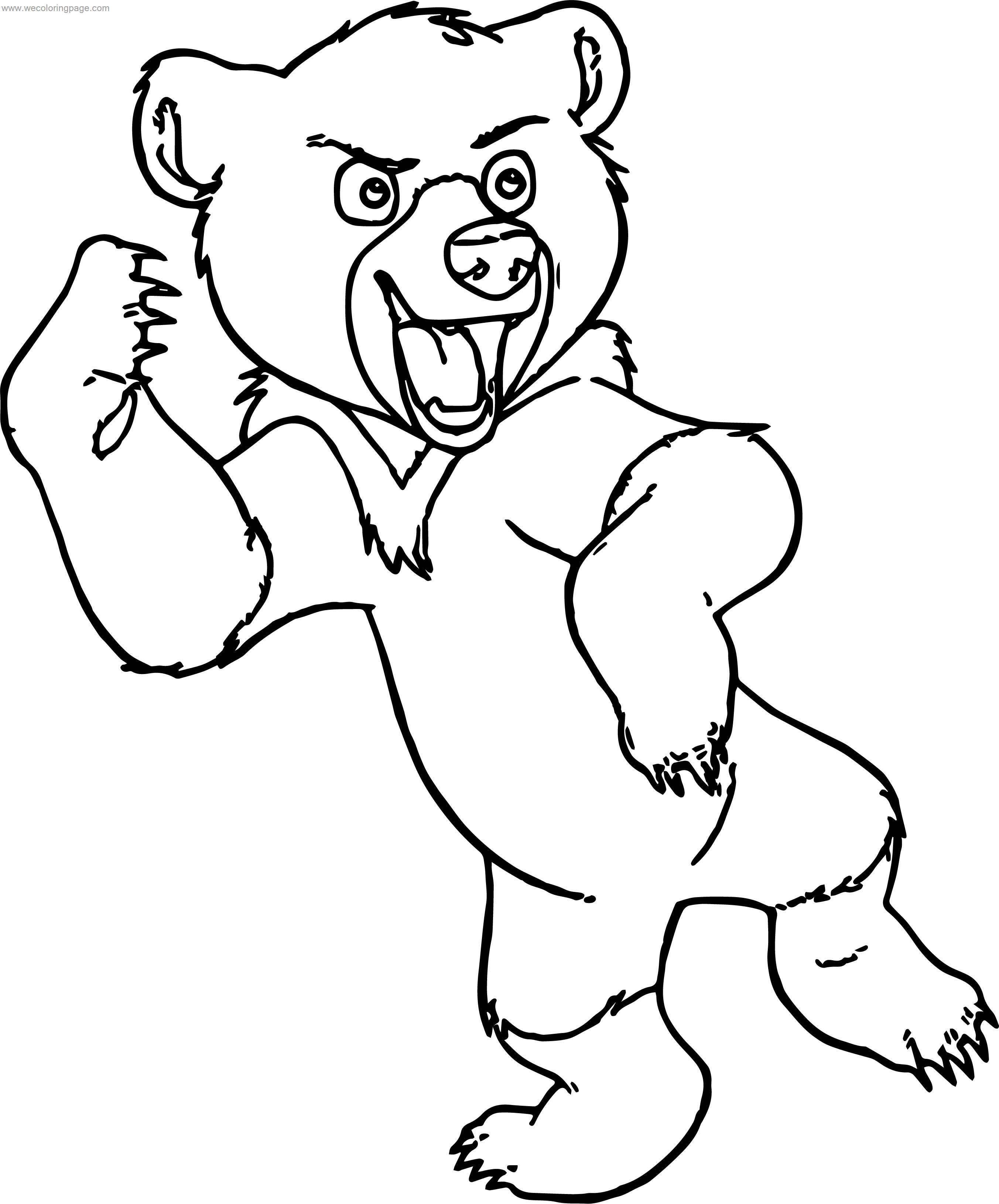 Disney Brother Bear Koda Coloring Pages