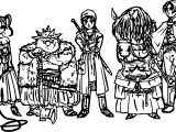 Dragon Quest VIII Dragon Quest Viii Coloring Page