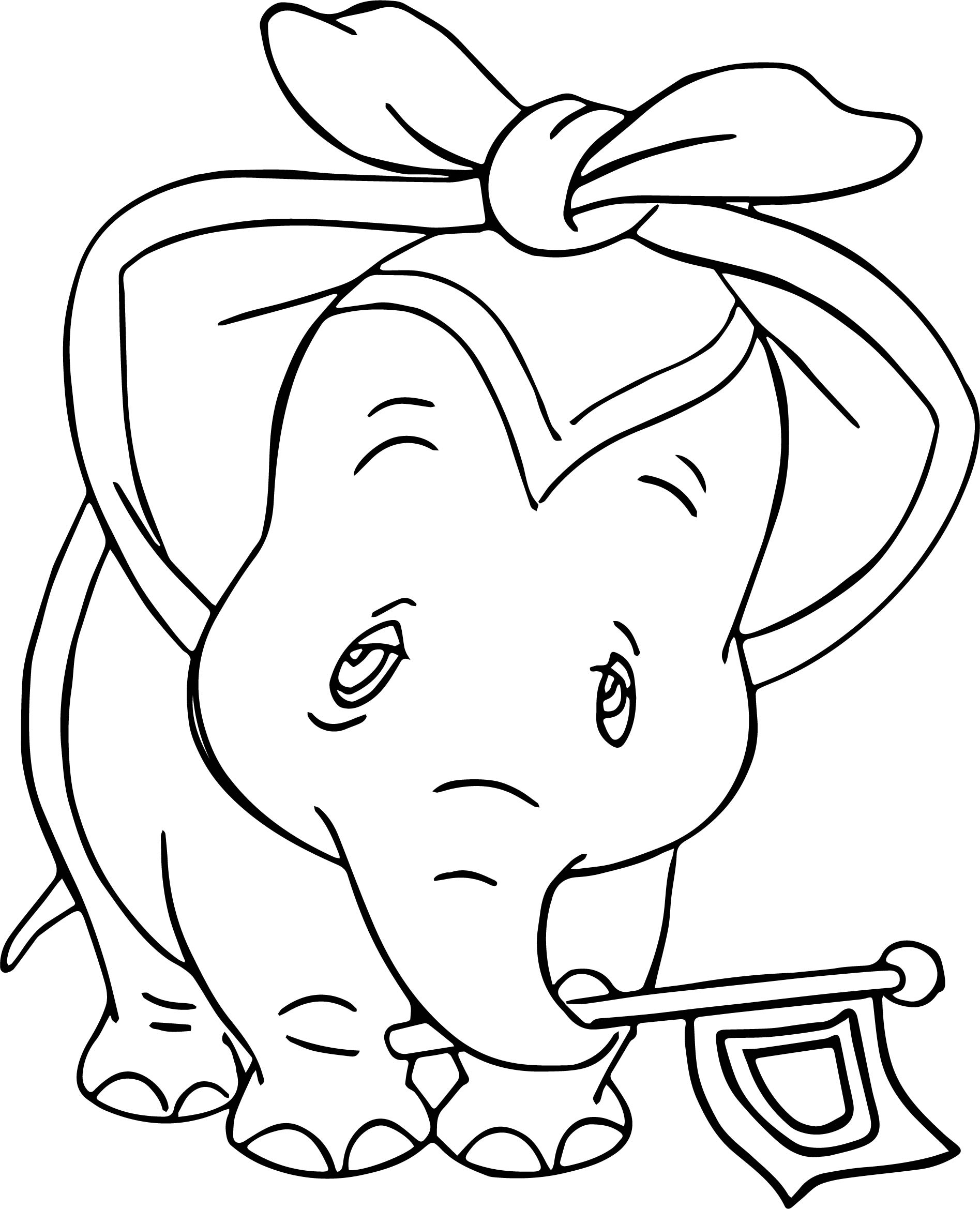 Dumbo Circus Ill Coloring Pages