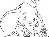 Dumbo Tim Coloring Page