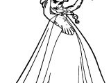 Elsa Magic Angry Magic Coloring Page