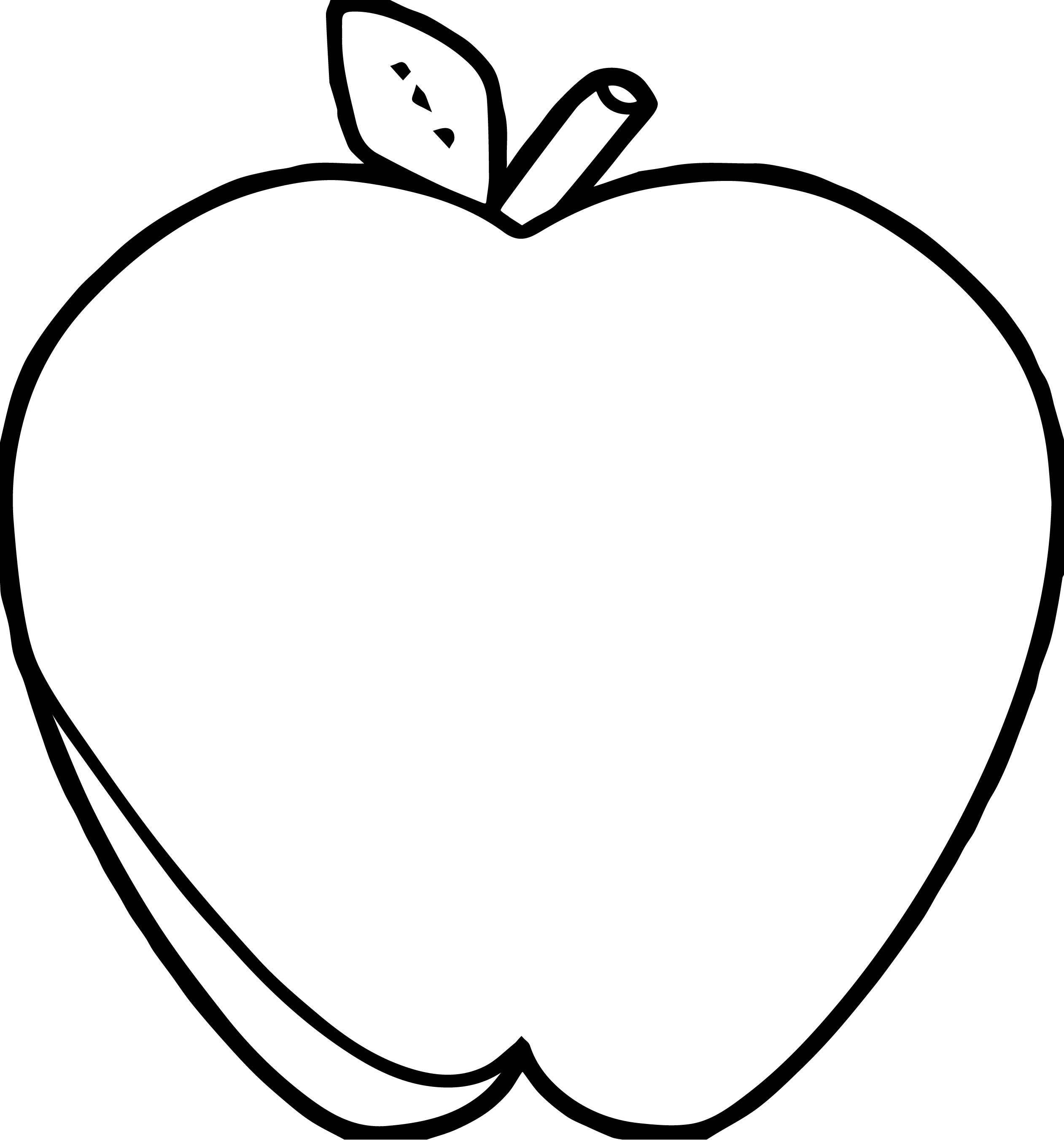 Free Printable Apple Coloring Pages Free Printable