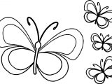 Funny Butterfly Cartoon Coloring Page