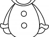 Gingerbread Cookie Heart Boy Coloring Page