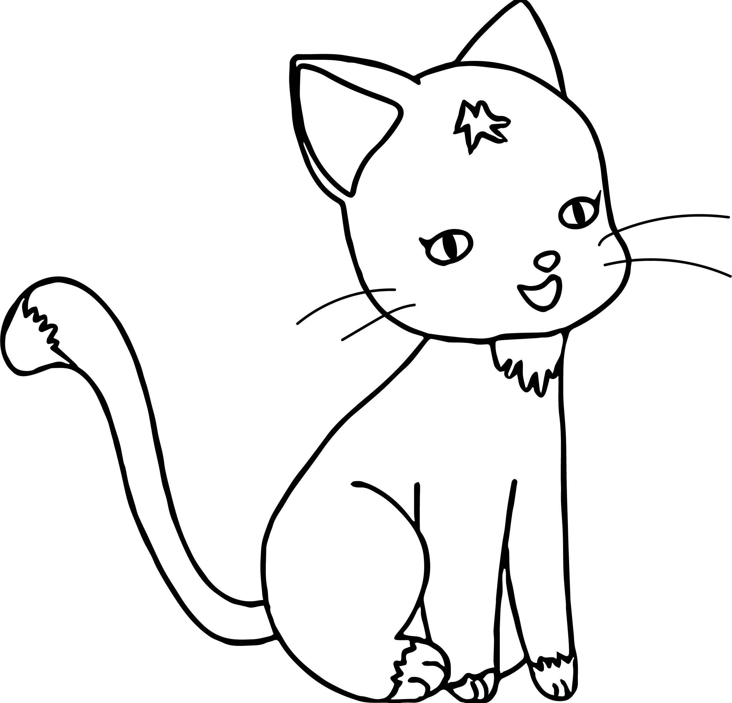 Go Cat Coloring Page