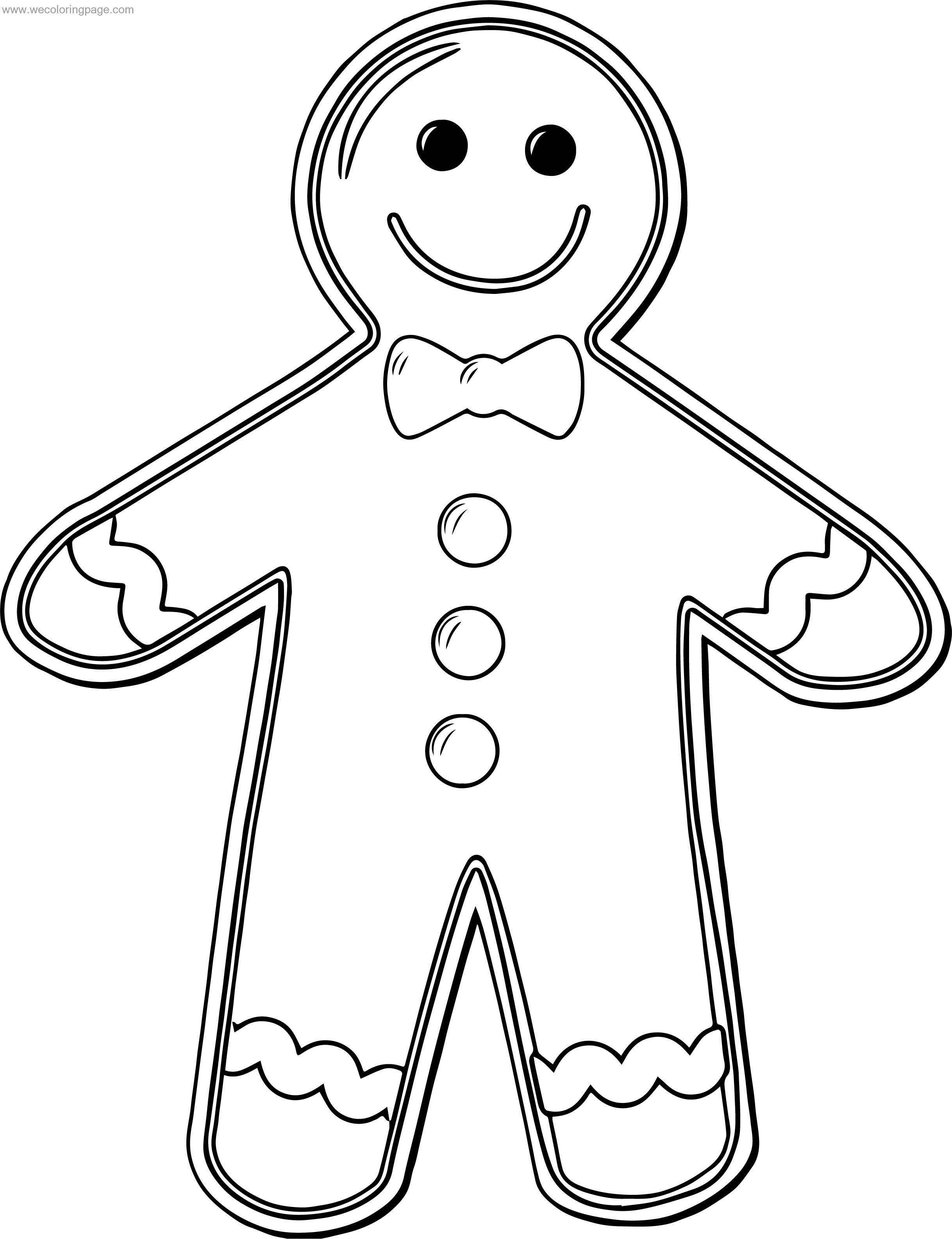 Good Cookie Gingerbread House Coloring Page