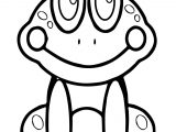 Good Frog Coloring Page