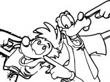 Goofy Movie Main Coloring Page