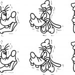 Goofy Pack Coloring Page