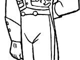 Hans Pose Coloring Page