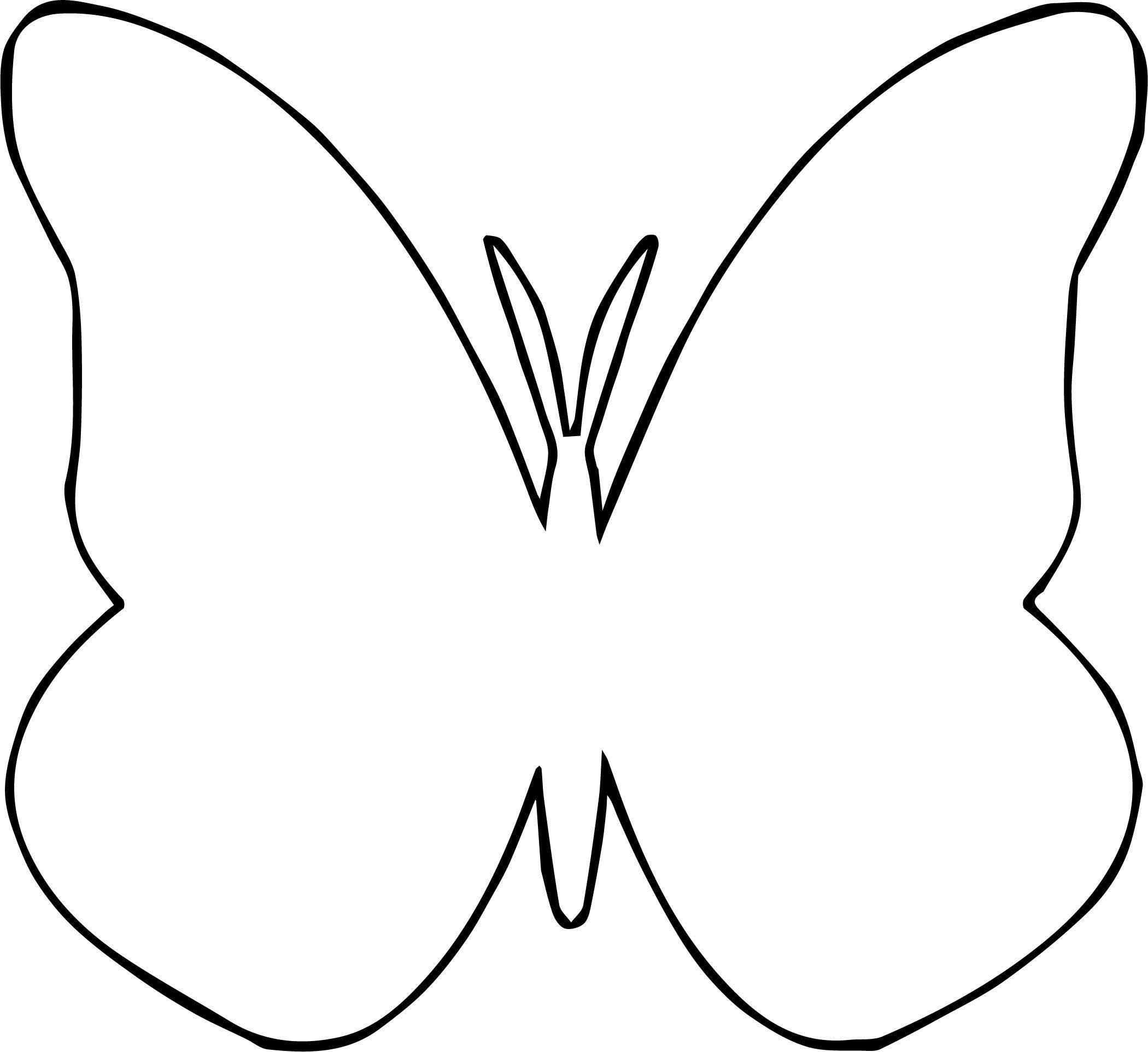 Hot Pink Butterfly Clip Art