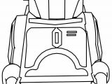 Jango Fett Star Wars Lego Coloring Page