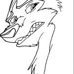 Kodi From Balto Wolf Coloring Page