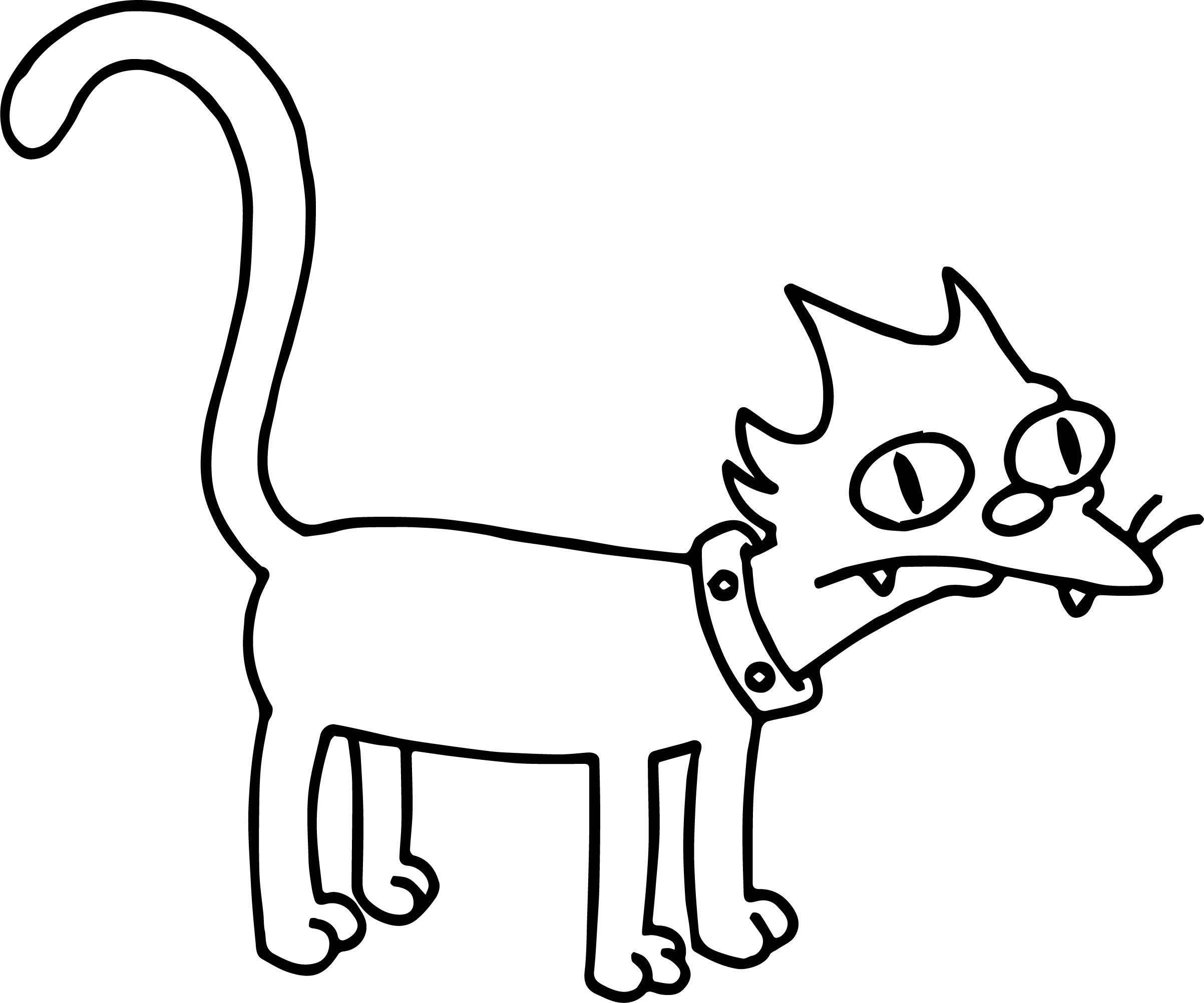 Last Cat Coloring Page
