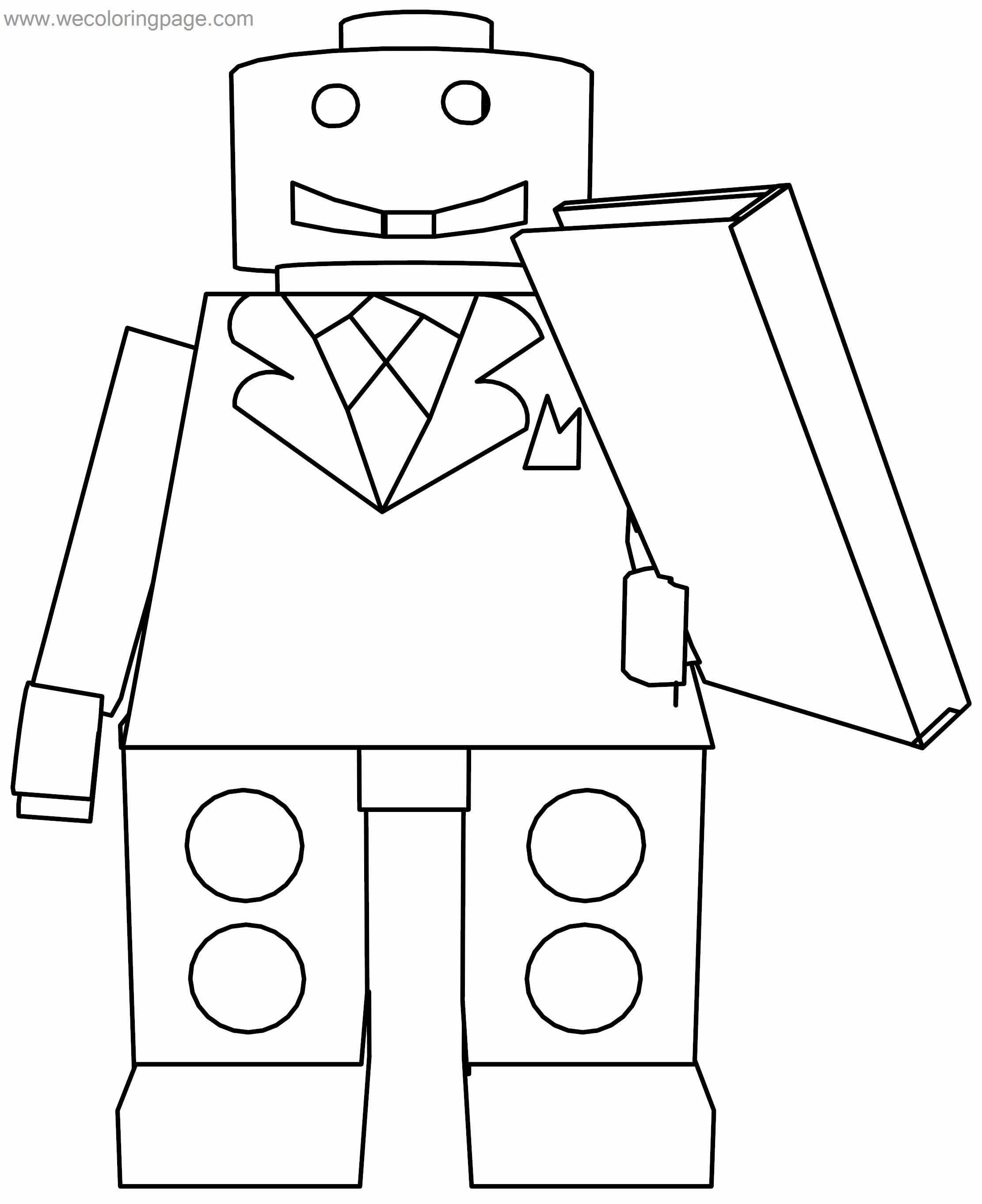 Lego Book Coloring Page