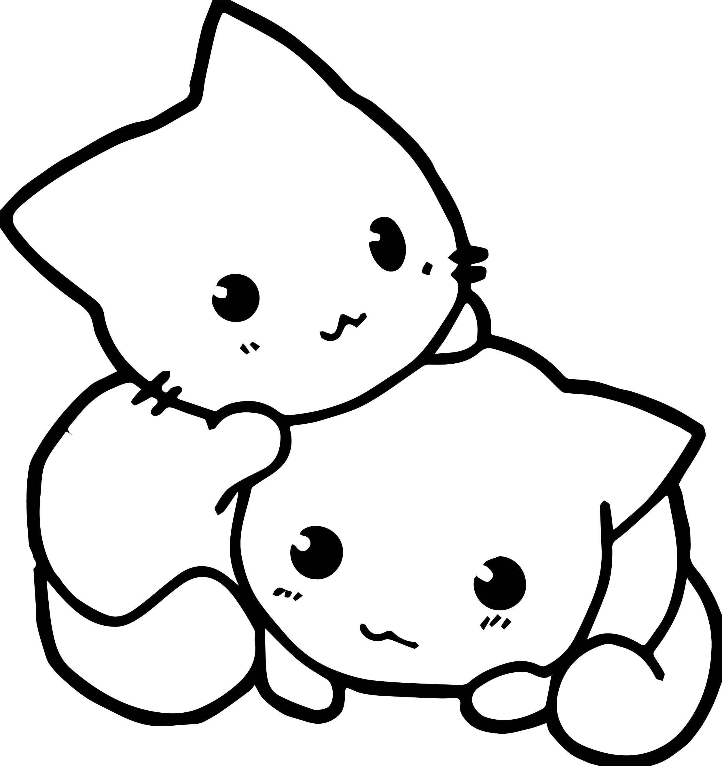 Make Cat Coloring Page