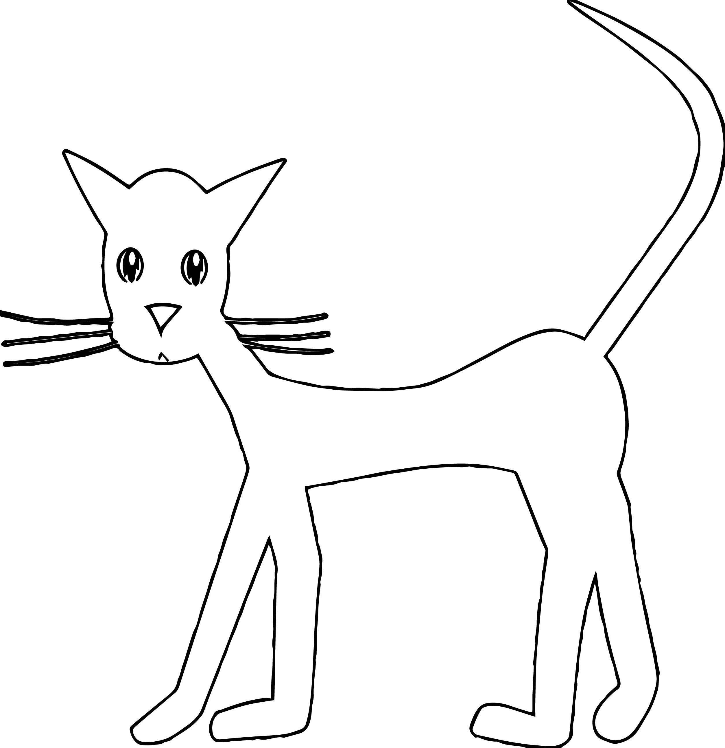 Many Cat Coloring Page