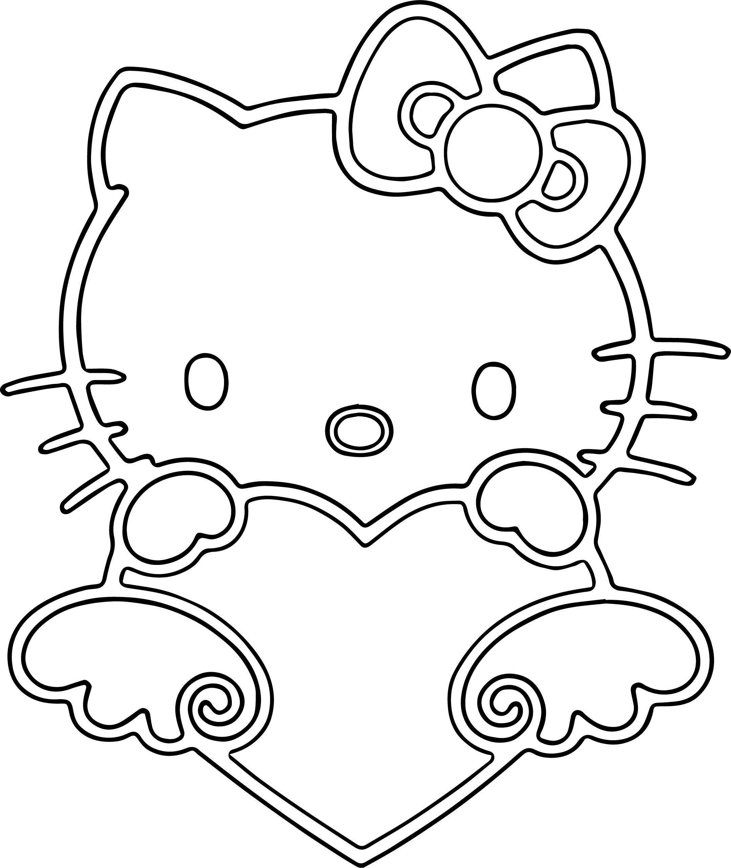 Men Cat Coloring Page