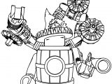 Minifig Steampunk Coloring Page