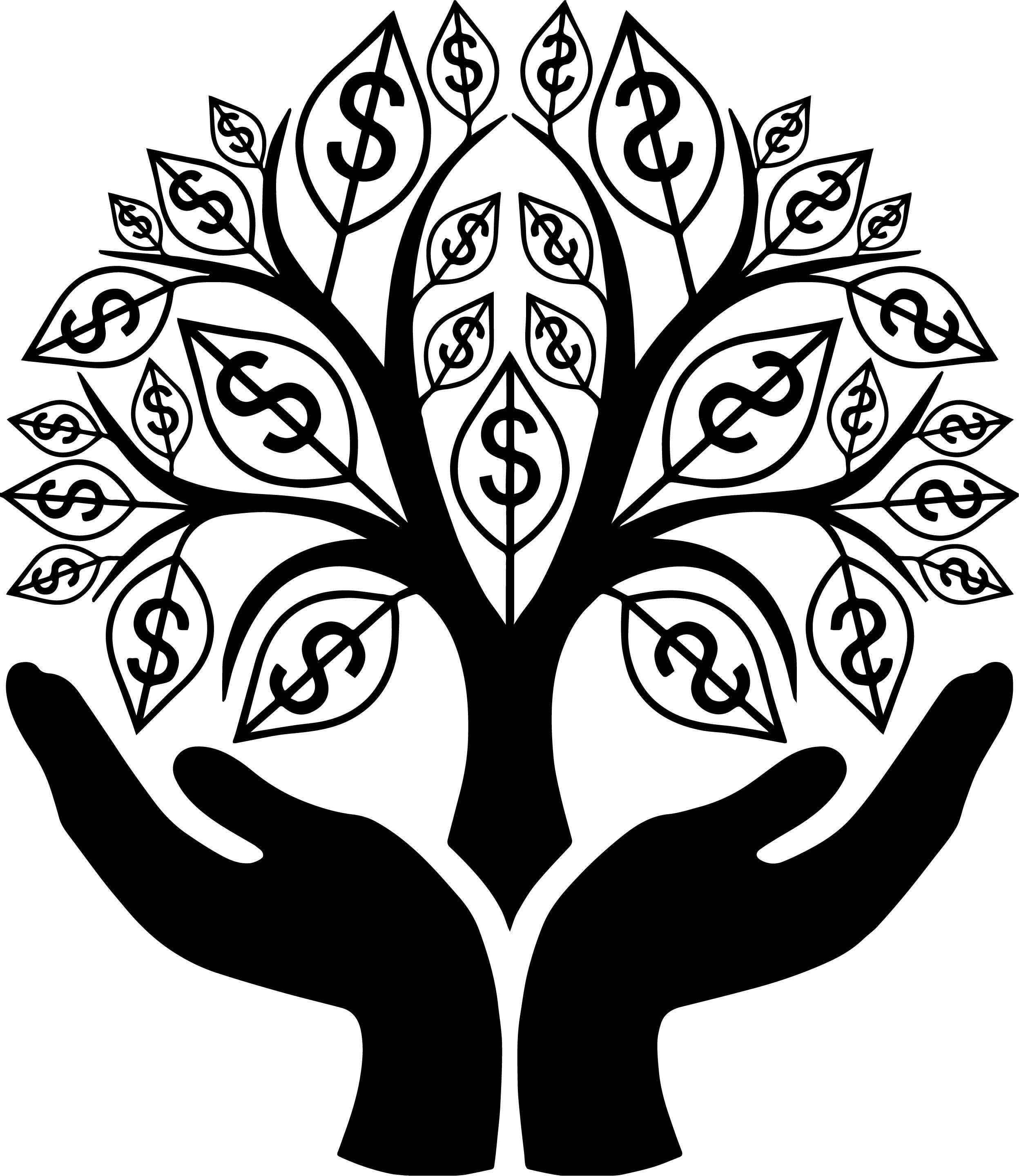 Attractive Money Sign Coloring Pages Embellishment - Coloring Paper ...