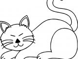 Most Cat Coloring Page