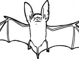 Move Bat Coloring Page