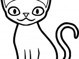 My Cat Coloring Page
