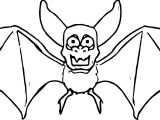 Old Bat Coloring Page
