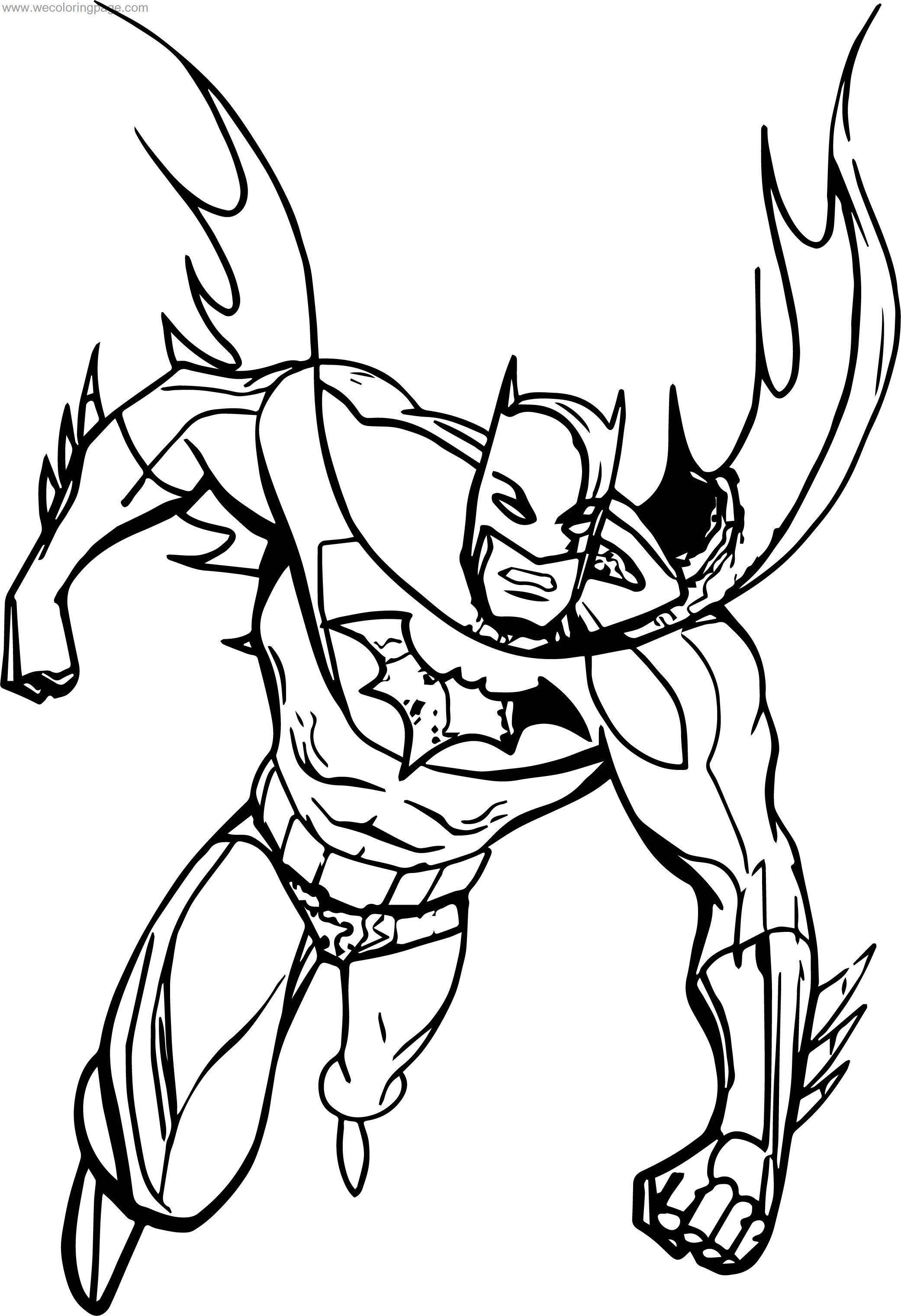 Other Batman Coloring Page