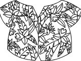 Other Hawaiian Shirt Coloring Page