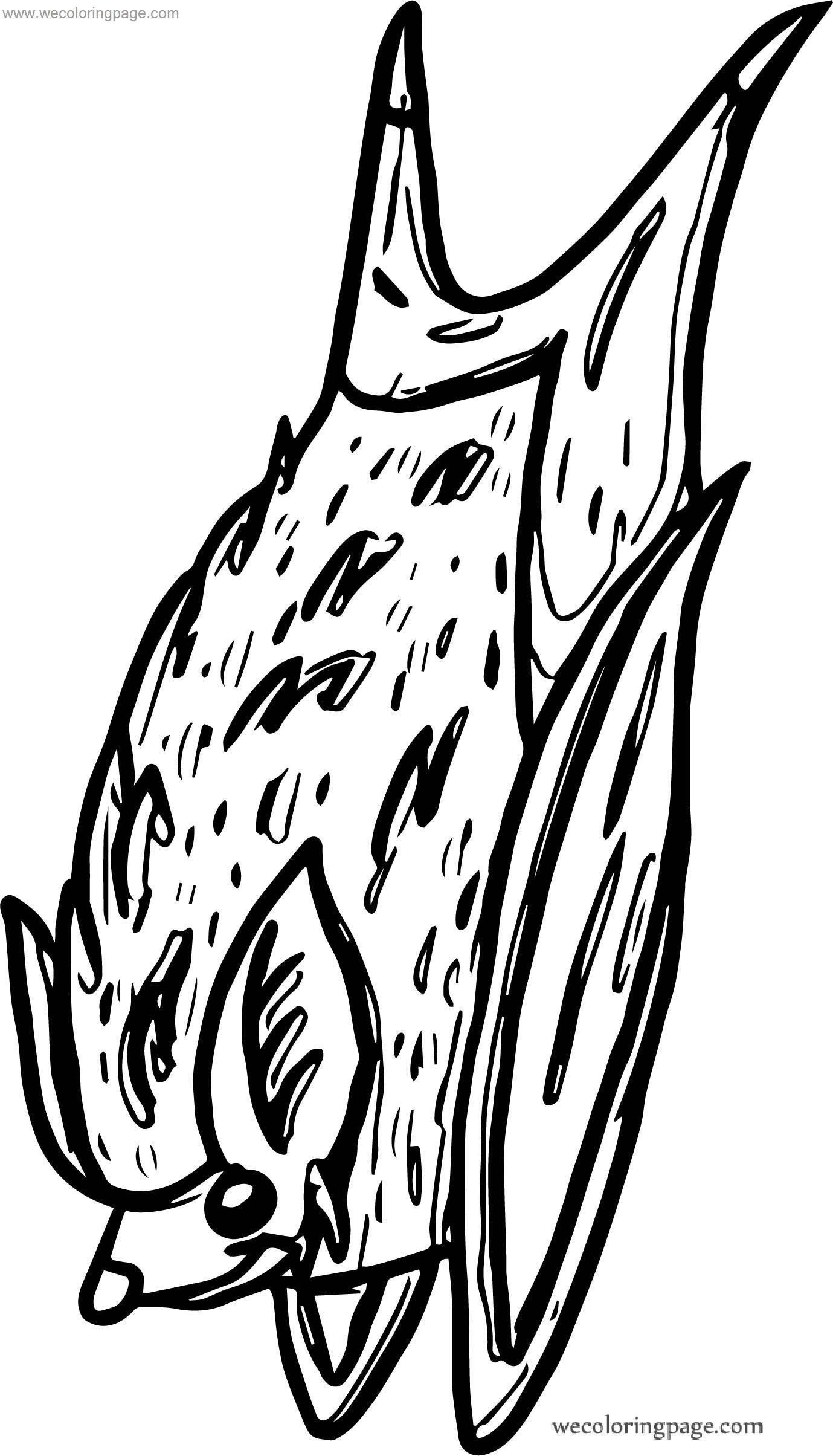 Out Bat Coloring Page