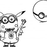 Pokemon Minion Minions Coloring Page